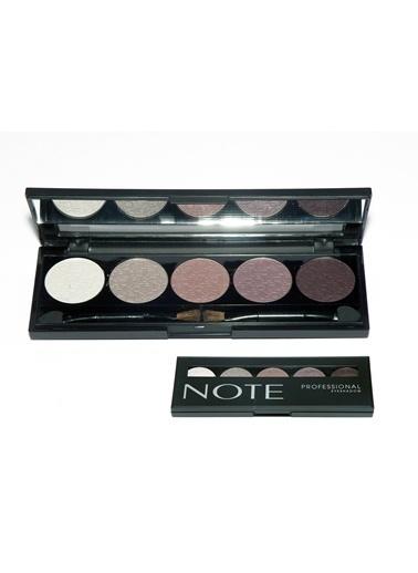 Note Note Professıonal Palet 5 Li Eyeshadow Göz Farı No 102 Renkli